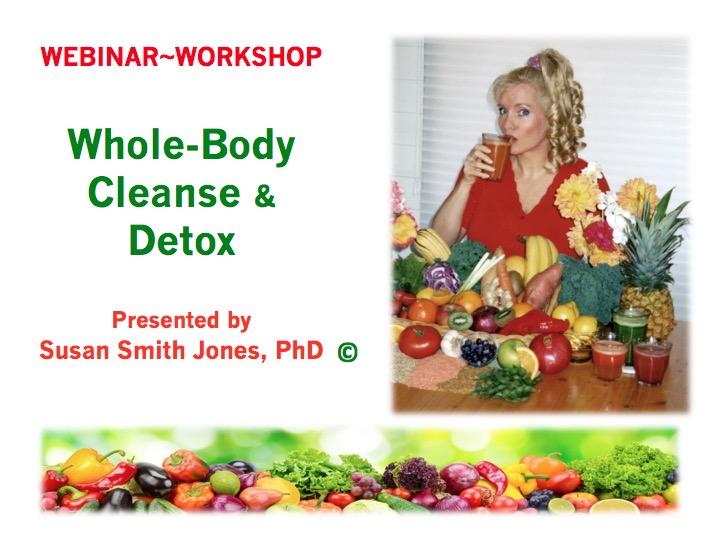 WEBINAR - Whole-Body Cleanse and Detox